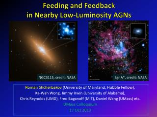 Feeding and Feedback  in Nearby Low-Luminosity AGNs