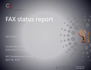 FAX status report
