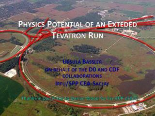 Physics Potential of an  E xteded  Tevatron Run
