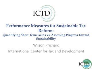 Wilson Prichard International Center for Tax and Development