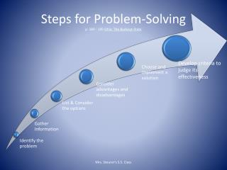 Steps for Problem-Solving p. 189 - 195  Ohio, The Buckeye State