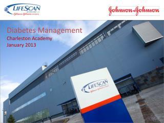 Diabetes Management Charleston Academy January 2013