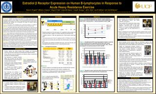 Estradiol β Receptor Expression on Human B-lymphocytes in Response to