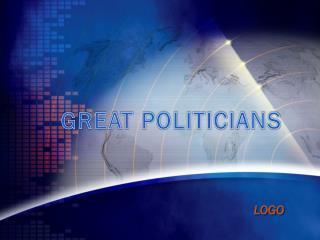 GREAT POLITICIANS