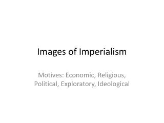 Images of Imperialism
