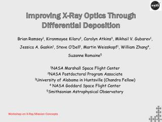 Improving X-Ray Optics Through Differential Deposition