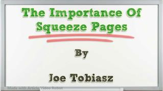 ppt 32064 The Importance Of Squeeze Pages