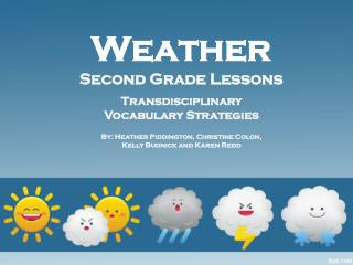 Weather Second Grade Lessons