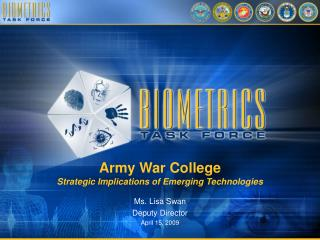 Army War College Strategic Implications of Emerging Technologies
