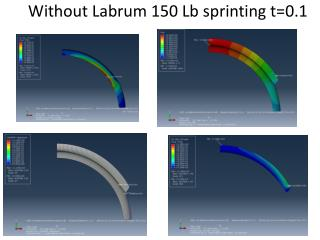 Without Labrum 150 Lb sprinting t=0.1