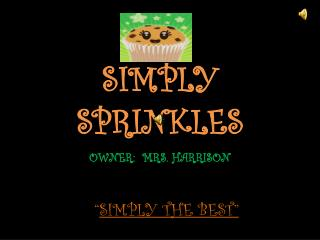 SIMPLY SPRINKLES
