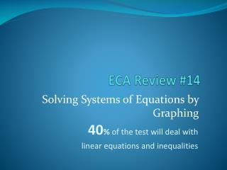 ECA Review #14