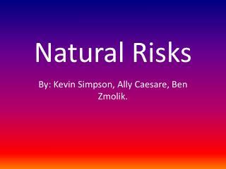 Natural Risks