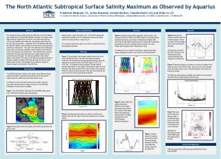 The North Atlantic Subtropical Surface Salinity  Maximum as  Observed by  Aquarius