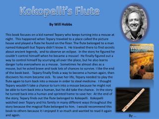 Kokopell i's Flute