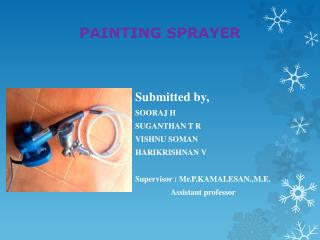 PAINTING SPRAYER