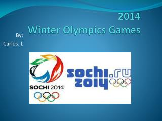 2014  Winter Olympics Games