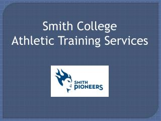 Smith College Athletic Training Services