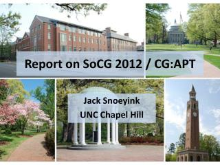 Report on  SoCG  2012 / CG:APT