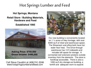 Hot Springs Lumber and Feed