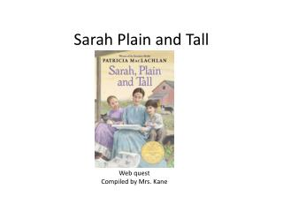 Sarah Plain and Tall