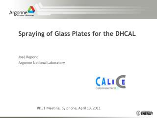 Spraying of Glass Plates for the DHCAL