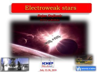 Electroweak stars