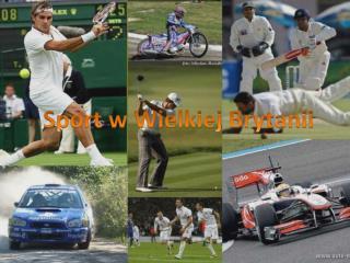 Sport w Wielkiej Brytanii