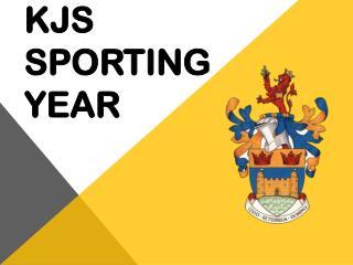 KJS Sporting year
