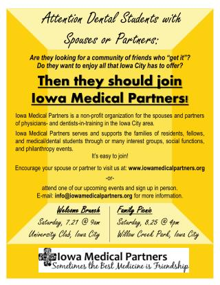 Attention  Dental Students with Spouses or Partners: