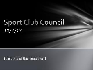 Sport Club Council