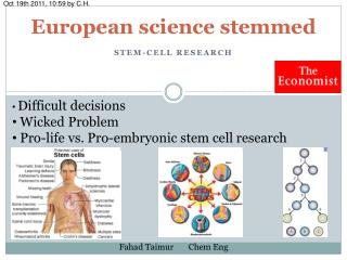 European science stemmed