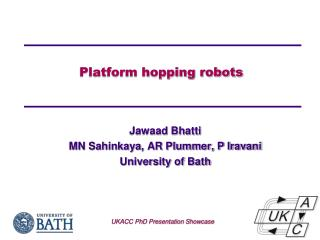 Platform hopping robots