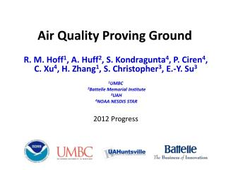 Air Quality Proving Ground