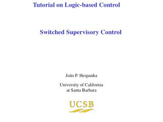 Switched Supervisory Control