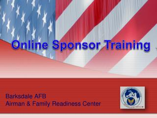 Barksdale AFB Airman  &  Family Readiness Center