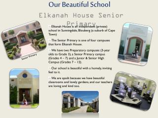 Our Beautiful School