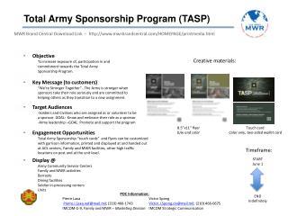 Total Army Sponsorship Program (TASP)