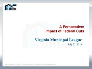 A Perspective:   Impact of Federal Cuts