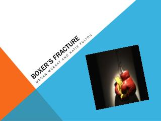 Boxer's Fracture