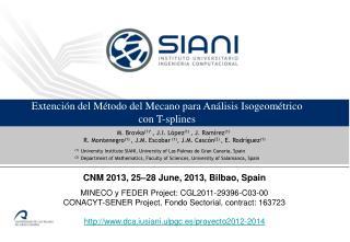 Extención  del Método del Mecano para Análisis  Isogeométrico con T- splines