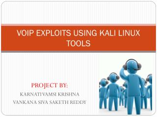 VOIP EXPLOITS USING KALI LINUX TOOLS