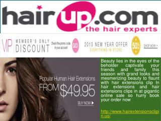Hair Extensions Clip in Us