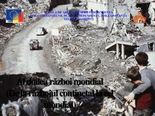 Al doilea război mondial  (De la războiul continetal la cel mondial)
