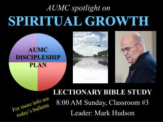 AUMC spotlight on SPIRITUAL GROWTH