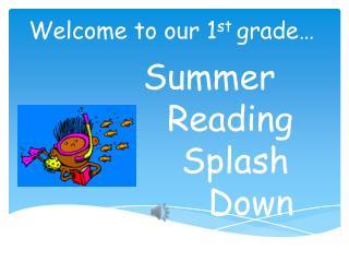 Summer  Reading       Splash         Down