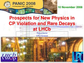 Prospects for New Physics in CP Violation and Rare Decays at LHCb