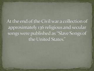 Were coded spirituals effective ways of communication for slaves?