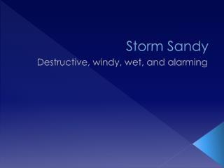 Storm Sandy