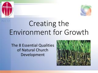 Creating the Environment for Growth